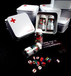VERSO Candy Pack by Gilbert Fang, via Behance