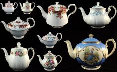 cake stand heaven: Collectable Teacups and Vintage Teapots