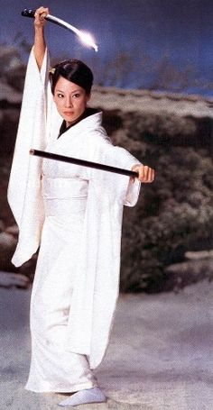 O-Ren Ishii [a.k.a. Cottonmouth] (from Kill Bill Volume 1, 2003). Portrayed by Lucy Liu
