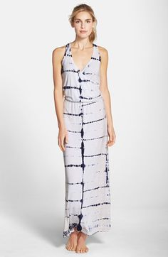 Hard Tail Wrap Maxi Dress available at #Nordstrom