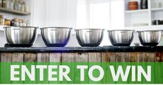 Enter For Your Chance To Win 1 of 5 PriorityChef 5Pc Mixing Bowls Complete With Lids! http://upvir.al/17442/lp17442