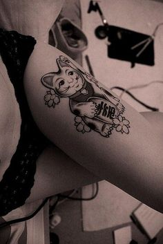 MY FAV!  yeah - not on the thigh...  But I like this tattoo