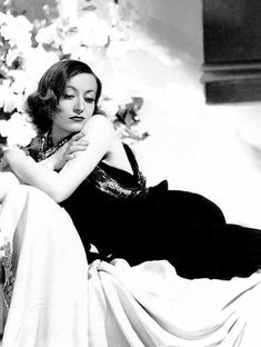 "classic-hollywood-glam: ""Joan Crawford """
