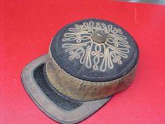 CRIMEAN WAR BRITISH OFFICERS REGIMENT PEAKED FORAGE CAP HAT