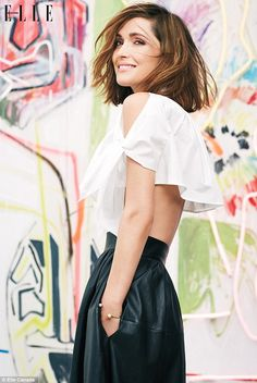Rose Byrne - Elle Canada May 2014, love this photo