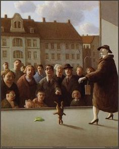 Michael Sowa is a German artist known for his whimsical, surreal and stunning paintings often featuring animals. He studied at the Academy of Fine Arts… Michael Sowa, Wilhelm Busch, Es Der Clown, Surrealism Painting, Bunny Art, Bunny Bunny, Look Here, Art Database, Pablo Picasso