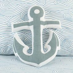 Land of Nod Anchor pillow $16
