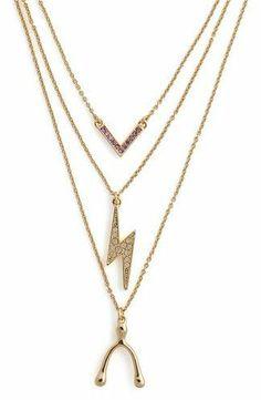 Wishing Bolt Necklace