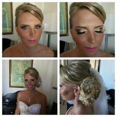 A wedding oin Aruba Bride's Hairstyling ad Make-up by JenniVe.....can contact @jennive@hotmail.com @Facebook .jennifer Croes-Veeris jennive Hi-Fashion.