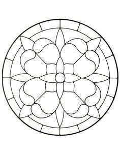 template fleurs