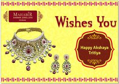 Happy akshaya tritiya With ‪#‎MahabirDanwarJewellers‬