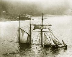 """The Wreck of """"The Mildred"""", 1912"""