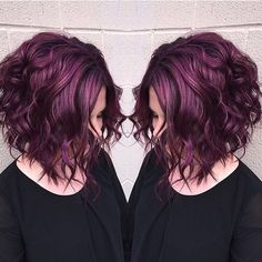 """CONGRATULATIONS to @beautybymalm for winning the #modernsalonPURPLE HAZEcolor contest! We love this shade, dimension and texture so much! Thanks to…"""