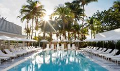 Pamper yourself with a visit to the Metropolitan by COMO's #spa, which offers massages, body treatments, and facials. You're sure to appreciate this #boutiquehotel's recreational amenities, including an outdoor pool, a sauna, and a steam room. | https://stayful.com/miami-hotels/metropolitan-by-como