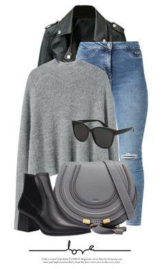 """22:03"" by monmondefou ❤ liked on Polyvore featuring Chloé and Yves Saint Laurent"