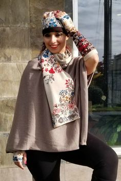 This is a stunning wool scarf from European brand Ivko in several different  colors. Made 5b18497aaff