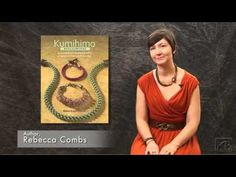 Rebecca Combs - Kumihimo Basics & Beyond - Interesting ad for book.