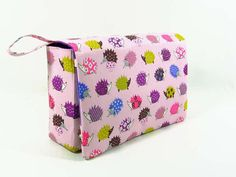 Purple hedgehog diaper bag new parents baby gift by purseNmore