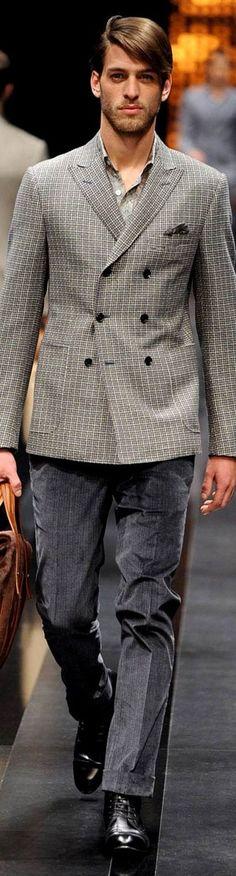Canali Menswear Fall   Men's Fashion & Style   Luxury Casual   Moda Masculina   Shop at designerclothingfans.com