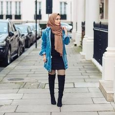 41 cute fashion teenage trending now 22 Modern Hijab Fashion, Muslim Fashion, Cute Fashion, Modest Fashion, Fashion Outfits, Modest Wear, Modest Dresses, Modest Outfits, Casual Outfits