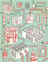 Factory of Life --   Synthetic biologists reinvent nature with parts, circuits -- (From ScienceNews.org) Now, synthetic biologists have laid the groundwork for that radical new future, by building biology's version of Silicon Valley. One research team has created a new and more complex set of biological building blocks that snap together like Legos, bringing large-scale production of engineered organisms closer to reality.