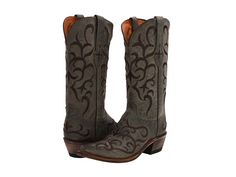 Lucchese M5037 Seagreen Madras Mad Dog Goat - 6pm.com