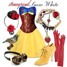 """Steampunk Snow White"" by princesschandler on Polyvore"