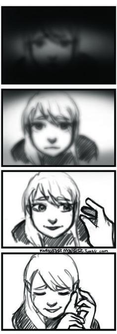 """So basically Roy getting his eyesight back."""