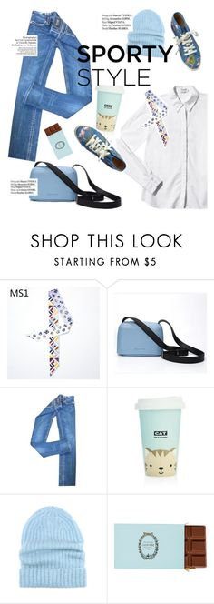 """""""sporty style"""" by punnky ❤ liked on Polyvore featuring Miss Me, Haute Hippie, Paul & Joe Sister and Tak.Ori"""
