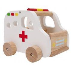 Hračka autíčko sanitka