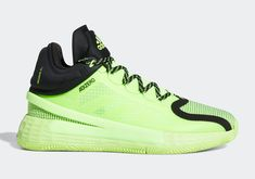 The adidas D Rose 11 Gets A Bright Signal Green Colorway