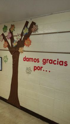 12 best da de accin de gracias images on pinterest spanish classroom creativities damos gracias por spanish thanksgiving display fandeluxe Gallery