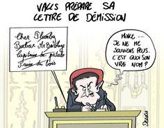 Le journal de BORIS VICTOR : On sait pourquoi la lettre de démission de Valls s...