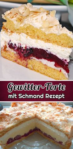 Fun Baking Recipes, Cake & Co, Vanilla Cake, Baked Goods, Bakery, Cheesecake, Food And Drink, Sweets, Ethnic Recipes