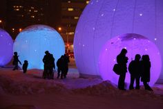 Light Installation, Art Installations, Gate, Fair Grounds, Clouds, Montreal, Travel, Polar Fleece, Voyage