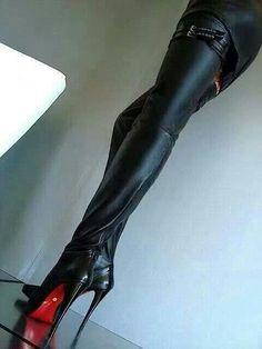 Endless thigh high boot