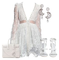 Untitled #4556 by metemelobiebas on Polyvore featuring polyvore, fashion, style, Yves Saint Laurent and clothing