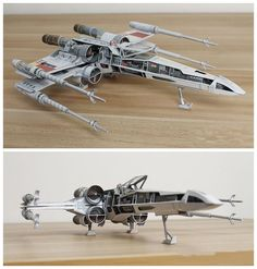 Film Star Wars Incom T-65 X-wing Starfighter Handcraft Paper Model Kit #Unbranded