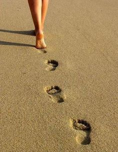 lead the way...because if you follow the foot prints of someone else.. you would not leave your own trail...