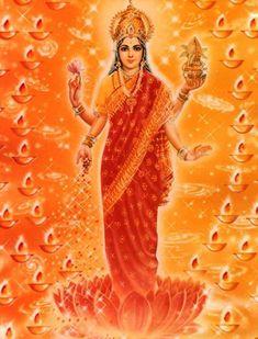 Lakshmi, goddess of the means of obtaining objectives