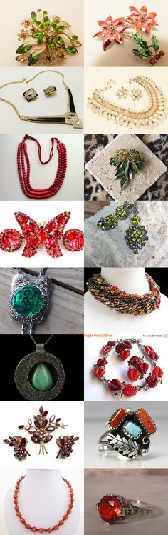 VJT SOTW - Celebrating Marie and The Jewelry Cabinet by roxy on Etsy--Pinned with TreasuryPin.com