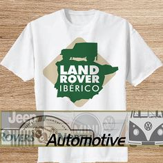 Land Rover Iberico TShirt Tee Shirts Black and by Automotives, $19.89