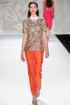 Monique Lhuiller - Spring/Summer 2014 NYFW