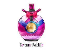 Des flacons de parfum joliment inspirés par les méchants des films Disney.