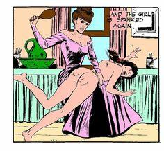 Erotic comics spanking