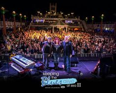 Joe Bonamassa, Beth Hart, and Bruce on KEEPING THE BLUES ALIVE CRUISE Joe, Beth,&Bruce