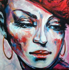 Buy French girl (70 x 70 cm), Acrylic painting by Kovács Anna Brigitta on Artfinder. Discover thousands of other original paintings, prints, sculptures and photography from independent artists.