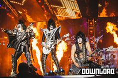 Kiss - 14 June 2015 Buzzard, Hot Band, Derbyshire, Punk Rock, Heavy Metal, Festivals, Kiss, Wonder Woman
