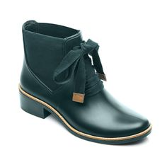 Lacey Rain Boot - Forest Green