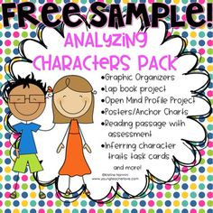 Character Study Part Character Traits, Character Change, and More - Young Teacher Love Character Traits Graphic Organizer, Graphic Organizers, Rubrics For Projects, Book Projects, Book Club Books, Book Clubs, 5th Grade Classroom, Literature Circles